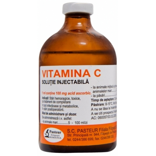 Vitamina C 10% Injectabil 100 ml