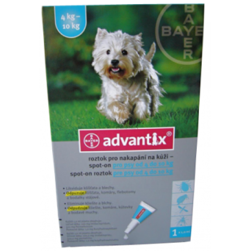 Advantix 4 - 10 Kg / Pipeta